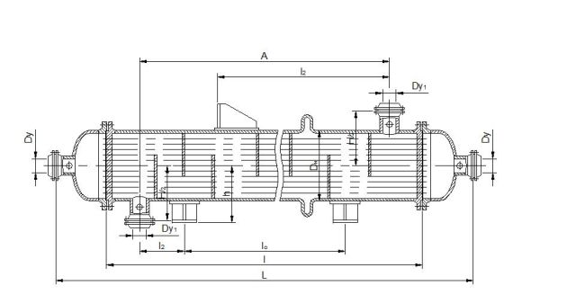 Холодильник кожухотрубный (кожухотрубчатый) типа ХКВ Орёл Уплотнения теплообменника Sondex SW122 Гатчина