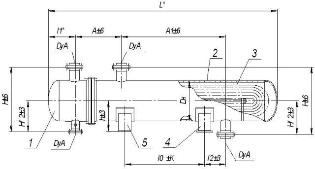 Кожухотрубный (кожухотрубчатый) испаритель типа ИНВ Челябинск сепаратор альфа лаваль цена щенка