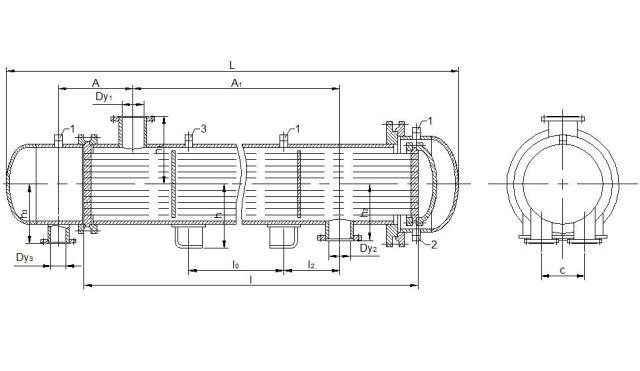 Подогреватель сетевой воды ПСВ 550-1,37-2,45 Артём Кожухотрубный испаритель Alfa Laval DH3-193 Сыктывкар
