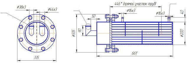 Подогреватель низкого давления ПН 400-26-2 IV Новый Уренгой