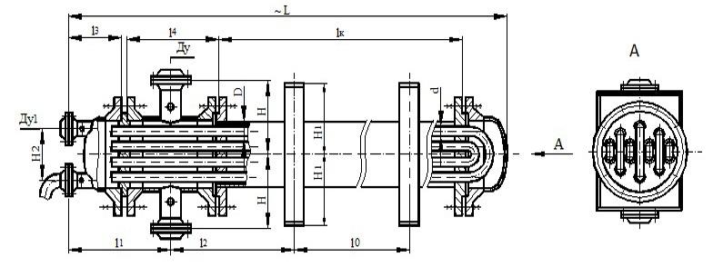 Вес теплообменника тп 800 Кожухотрубный испаритель Alfa Laval DXD 235R Миасс